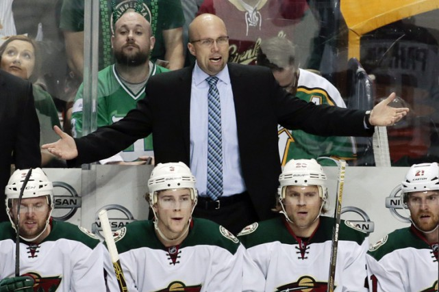 Mike Yeo... (PHOTO AP)
