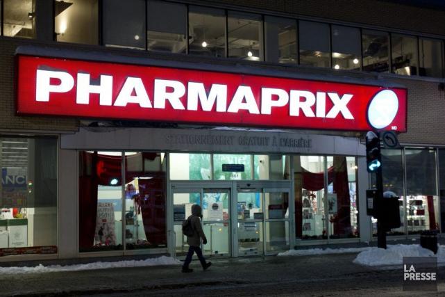 Shoppers Drug Mart, qui porte le nom de Pharmaprix au Québec, affirme que les... (Olivier Jean, Archives La Presse)