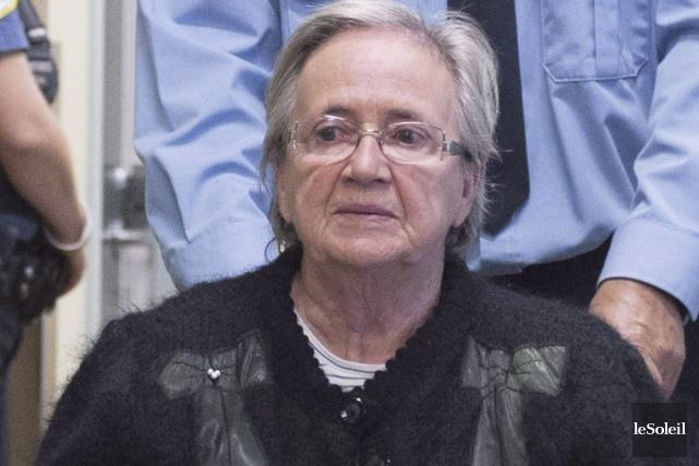 Devant la Cour d'appel du Québec, Lise Thibault... (Photothèque Le Soleil)