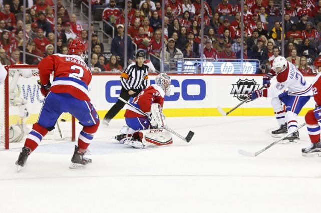 Alex Galchenyuk a a inscrit deux buts ce... (PHOTO REUTERS)