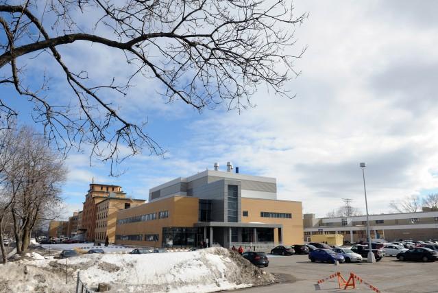 Le projet du nouveau complexe hospitalier sur le... (PhotoErick Labbé, Le Soleil)
