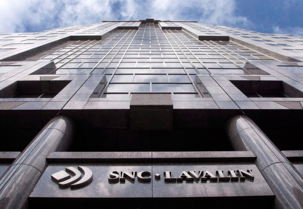 Quelque 950 employés de SNC-Lavalin (TSX:SNC), dont environ... (Photo Ryan Remiorz, Archives La Presse Canadienne)