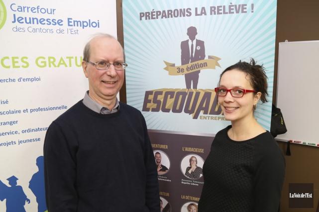 Yves Lauzière, directeur général du Carrefour jeunesse emploi... (Janick Marois, La Voix de l'Est)