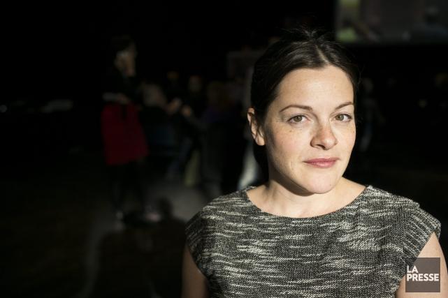 Sophie Cadieux... (Archives La Presse)