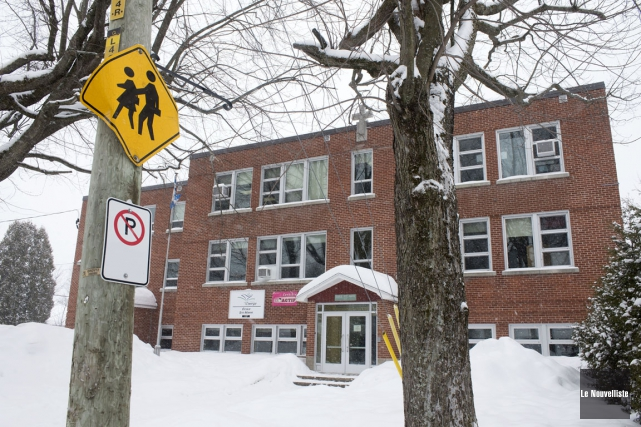 Depuis cette année, l'école Sainte-Marie déborde à Saint-Boniface... (Stéphane Lessard, Le Nouvelliste)