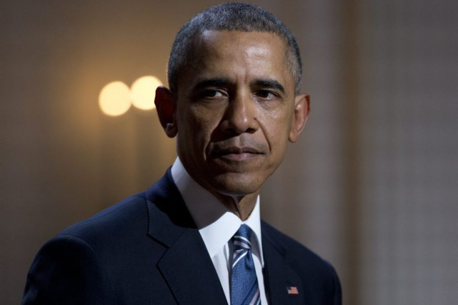 Barack Obama... (PHOTO CAROLYN KASTER, ASSOCIATED PRESS)