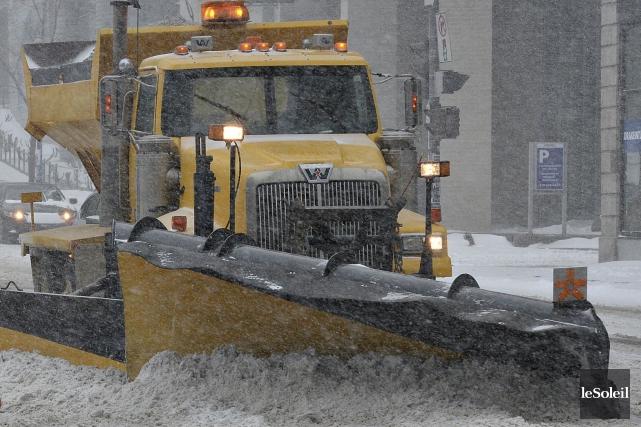Dans l'Est-du-Québec, les fortes accumulations de neige et... (Photothèque Le Soleil, Patrice Laroche)