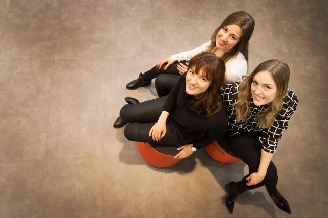 Chloé, Maxime et Justine Dufour-Lapointe sont aujourd'hui des... (PHOTOIVANOH DEMERS, ARCHIVES LA PRESSE)