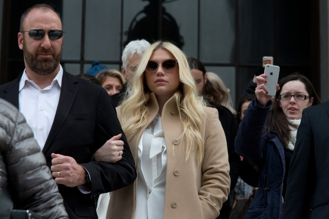 Kesha... (PHOTO ARCHIVES AP)