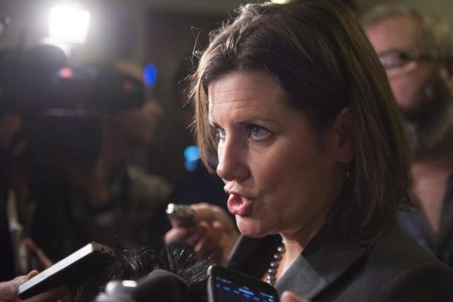 La ministre de la Justice, Stéphanie Vallée, accuse... (PHOTO JACQUES BOISSINOT, ARCHIVES LA PRESSE CANADIENNE)