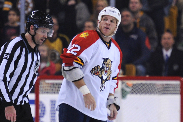 Shawn Thornton... (Photo Bob DeChiara, USA Today)