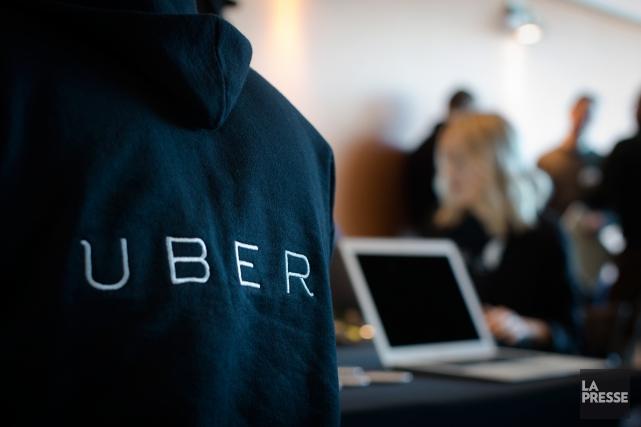 L'américain Uber prévoit une entrée en Bouse en 2019, a confirmé jeudi son... (PHOTO OLIVIER PONTBRIAND, archives LA PRESSE)