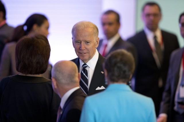Le vice-président américain se trouve au Mexique pour... (PHOTO REBECCA BLACKWELL, AP)