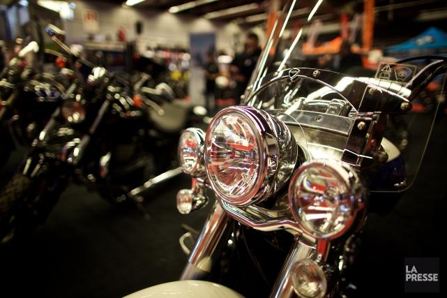 Le salon de la moto de Montréal est... (Photo André Pichette, archives La Presse)