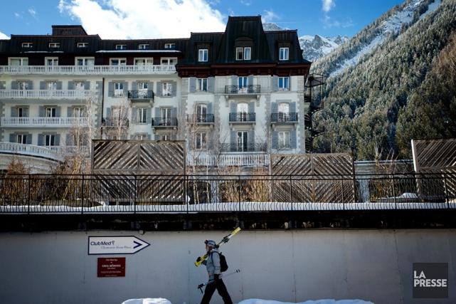 Le Club Med de Chamonix est installé dans... (PHOTO MARCO CAMPANOZZI, LA PRESSE)