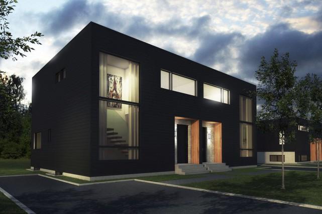 Les premières maisons du projet seront livrées en... (Fournie par Maizon Construction Libre)