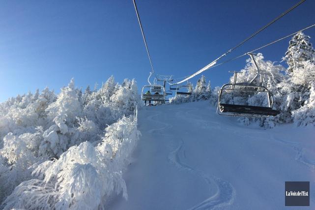 La station de ski du Mont Sutton est... (Archives La Voix de l'Est)