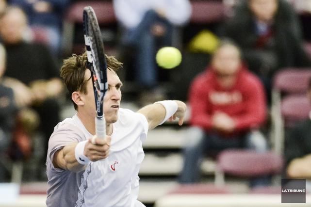 Si les tennismen du monde qui ont participé au tournoi Futures de tennis à... (Archives La Tribune)