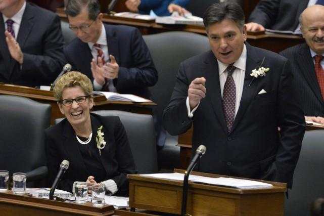 Le budget2016 de l'Ontario ne passera pas à... (Nathan Denette, PC)