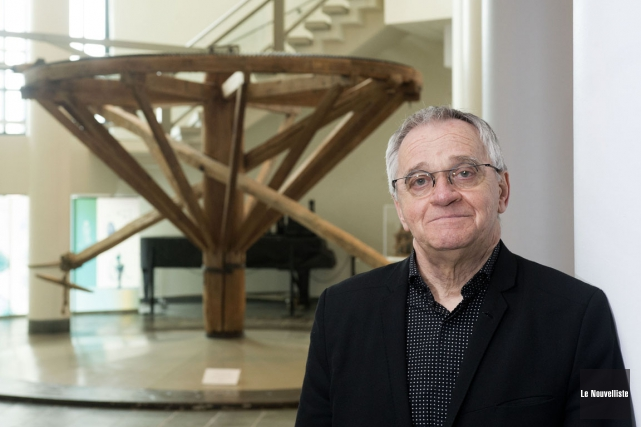 Yvon Noël, directeur du Musée québécois de culture... (Stéphane Lessard, Le Nouvelliste)