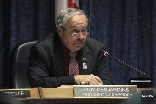 Le président des CUPR, Guy Desjardins,affirme être sorti... (Martin Brunette, Archives LeDroit)