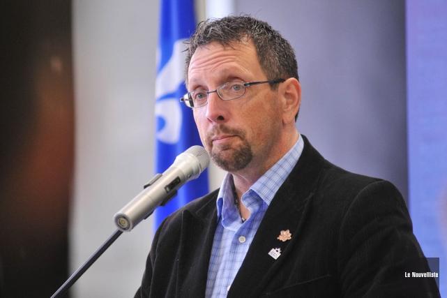 Guy Veillette, maire de Saint-Narcisse.... (Archives, Le Nouvelliste)