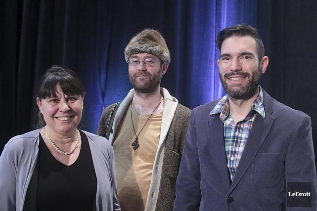 Nicole Casteran, François Baril Pelletier et Pierre-Luc Bélanger... (Etienne Ranger, LeDroit)