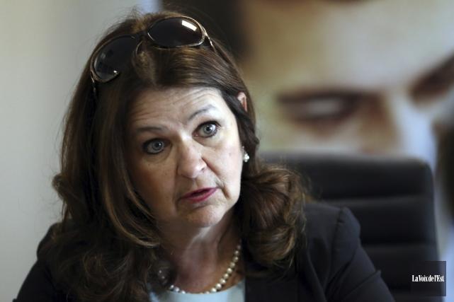 La présidente de l'UMQ, Suzanne Roy.... (Archives La Voix de l'Est)
