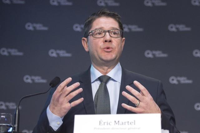 Le président-directeur général d'Hydro-Québec, Éric Martel... (Archives PC)