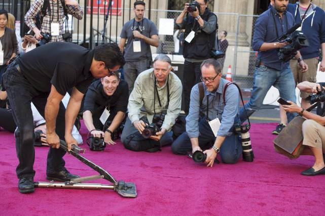 Les stars hollywoodiennes seront photographiées sous toutes leurs... (AFP, Valérie Macon)