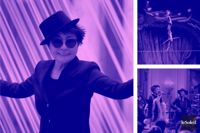 Yoko Ono n'a pas causé la séparation des Beatles (Infographie Le Soleil)