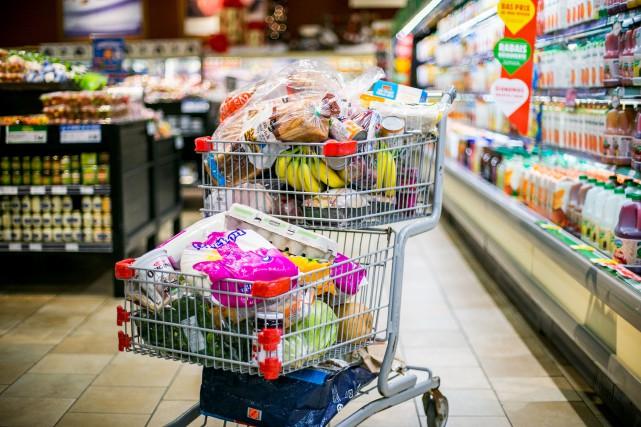 Fruits et légumes, viandes, céréales, produits de traiteur,... (Martin Tremblay, Archives La Presse)