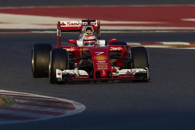 Ferrari a réalisé les meilleurs temps pendant ces... (Associated Press)