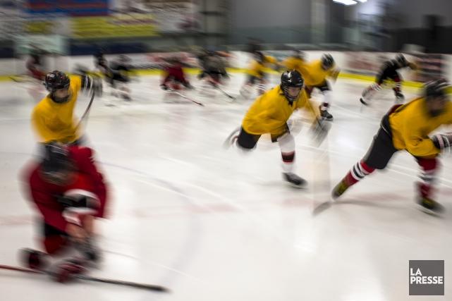La Ligue de hockey préparatoire scolaire comptera pas... (Archives, La Presse)