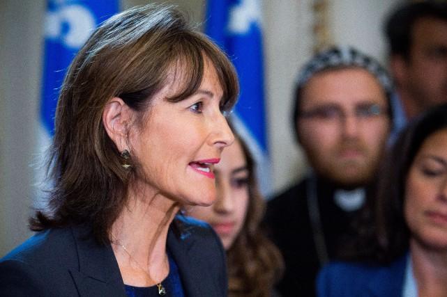 La ministre de l'Immigration Kathleen Weil a présenté... (PHOTO FRANCIS VACHON, ARCHIVES LA PRESSE CANADIENNE)