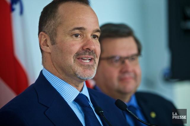 Le président de l'Impact, Joey Saputo, a commenté... (Photo André Pichette, La Presse)