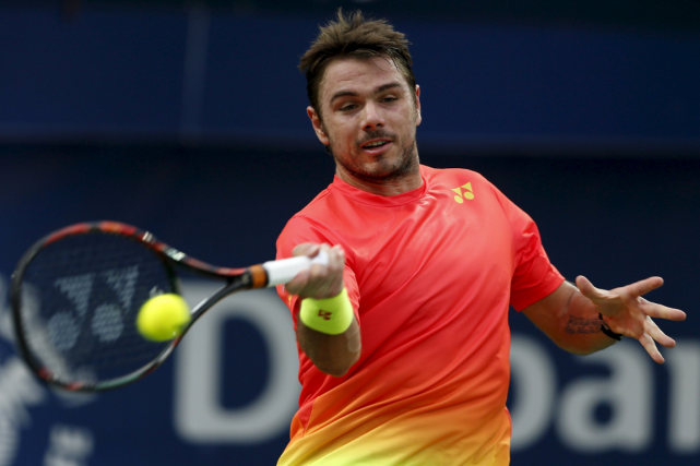 Stanislas Wawrinka... (Photo Ahmed Jadallah, Reuters)