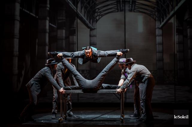 Cirkopolis a été présenté à Montréal, au Théâtre... (Photothèque Le Soleil)
