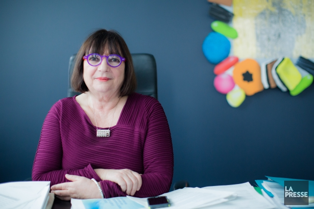 La présidente de la SODEC, Monique Simard, estime... (PHOTO ÉDOUARD PLANTE-FRÉCHETTE, LA PRESSE)