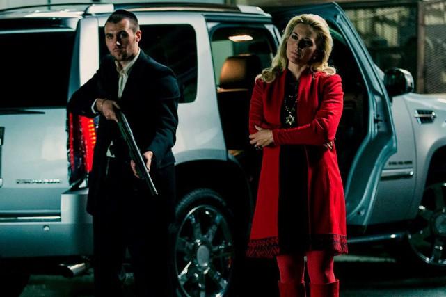Kate Winslet est méconnaissable en marraine d'un gang... (Fournie par Remstar)