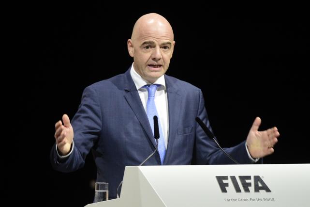 Le nouveau président de la FIFA, Gianni Infantino.... (Photo Olivier Morin, ARCHIVES AFP)
