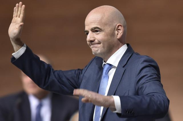Le nouveau président de la FIFA, Gianni Infantino.... (Photo Fabrice Coffrini, AFP)