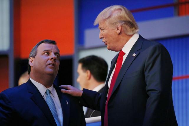 Le gouverneur du New Jersey Chris Christie devient... (Archives AP)
