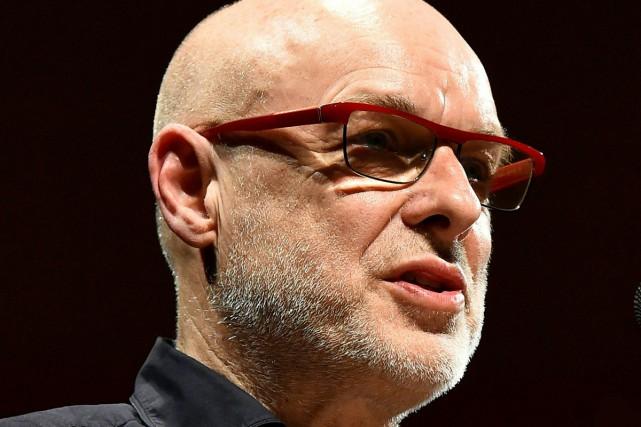 Le musicien expérimental et compositeur britannique Brian Eno a annoncé la... (PHOTO AFP)