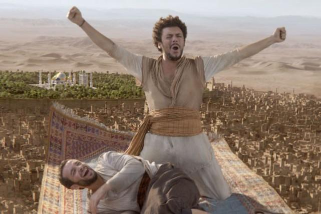 Les nouvelles aventuresd'Aladin... (PHOTO FOURNIE PAR AZ FILMS)