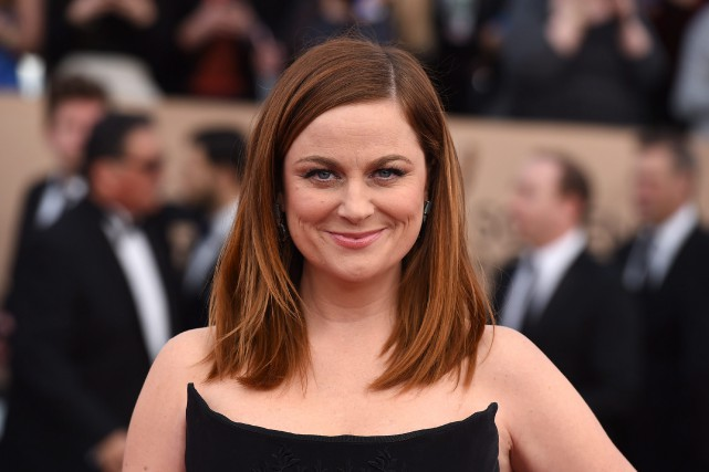 La comédienne Amy Poehler a utilisé sa communauté... (PHOTO ARCHIVES AP)