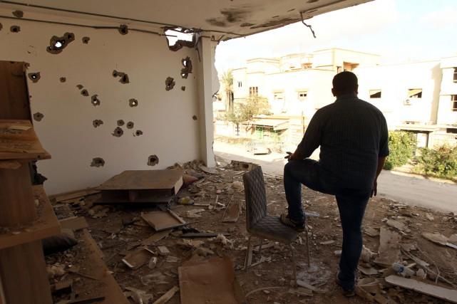 Benghazi est le théâtre depuis près de deux... (Photo ABDULLAH DOMA, archives AFP)