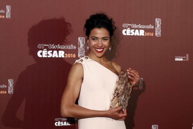 Zita Hanrot a été récompensée pour son rôle... (Photo Christian Hartmann, Reuters)