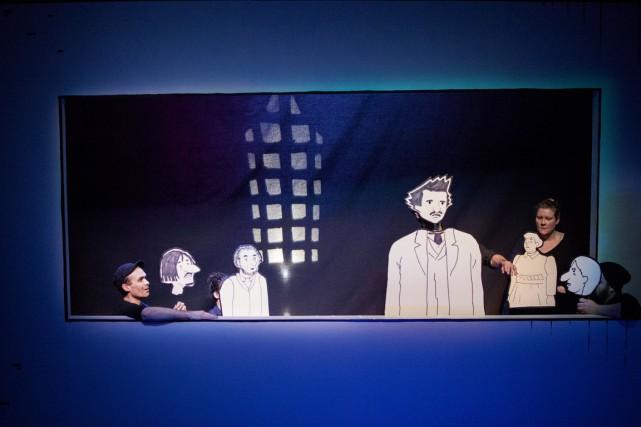 Dans Louis Riel : une bande dessinée théâtrale,le... (Photo fournie par le théâtre La Chapelle)