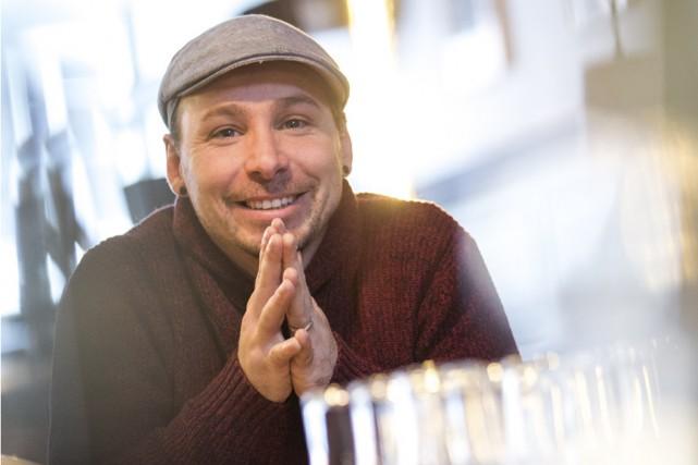 David Jalbert aime ce qu'il fait et ça... (Olivier Croteau)